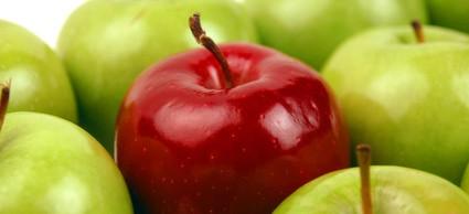 下痢の後の腸を優しく回復させてくれるすりおろしりんご