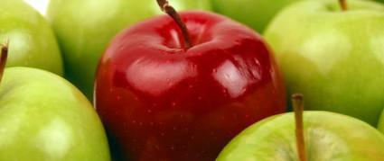 りんごダイエット!筋トレ嫌いな女性でも簡単に痩せられる方法