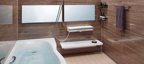 浴室などの水回りは常にキレイにする!