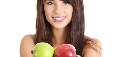 調理いらずでそのまま食べられる低カロリー食材の朝りんご