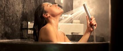 ぬるま湯のお風呂に15分つかる