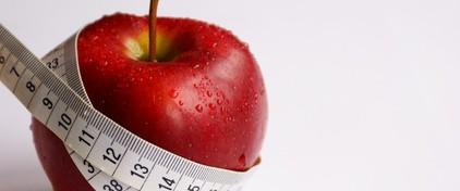 毎朝一個のりんごで5kg痩せた!りんごダイエットって断食系?