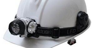 懐中電灯よりも両手の使えるヘッドライト