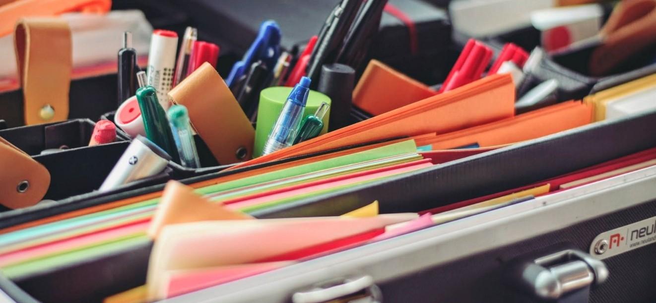 かわいい文房具で気分一新!断捨離で机上を整理してみた