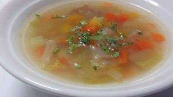 野菜たっぷりスープだけで体をリセット