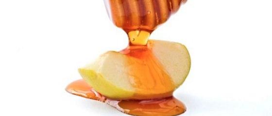 ビタミン補給!リンゴ&はちみつ