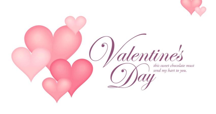 バレンタインデーはメッセージカードで決まると私は思っています。