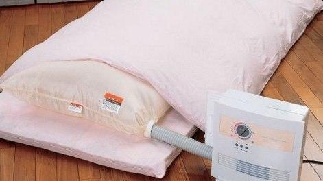 布団乾燥機を使う