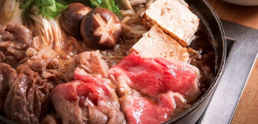 一人鍋でも美味しい♪すき焼き