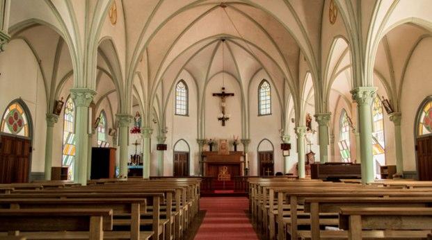 厳しい時代を耐え抜いた教会