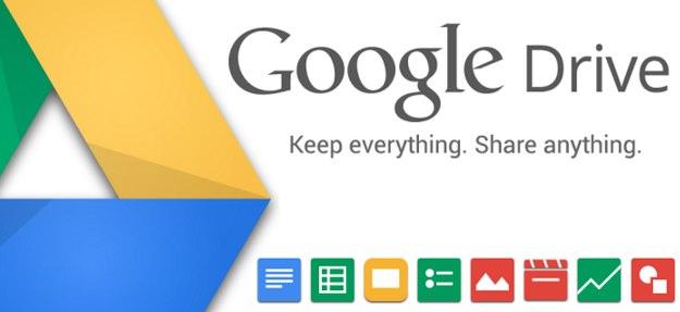 GoogleDrive(グーグルドライブ)