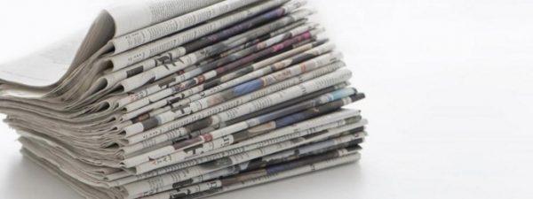 新聞紙は捨てずにためておこう