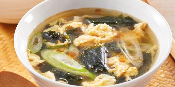 ある具材でOKの「中華風スープ」