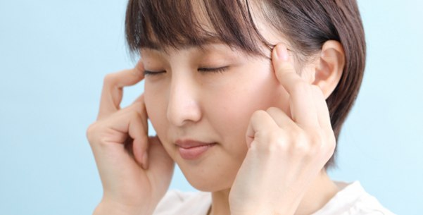 頭痛で頭がかち割れそう→太陽(たいよう)